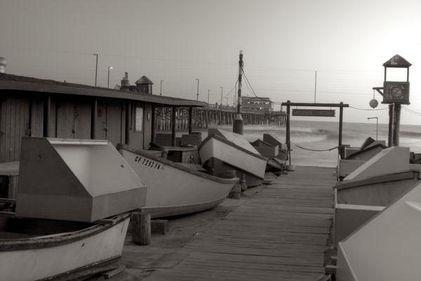 Newport Pier circa ?